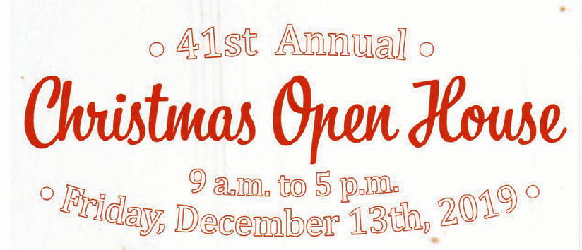 41st Annual Christmas Open House