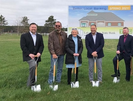 Groundbreaking Ceremony in Evart