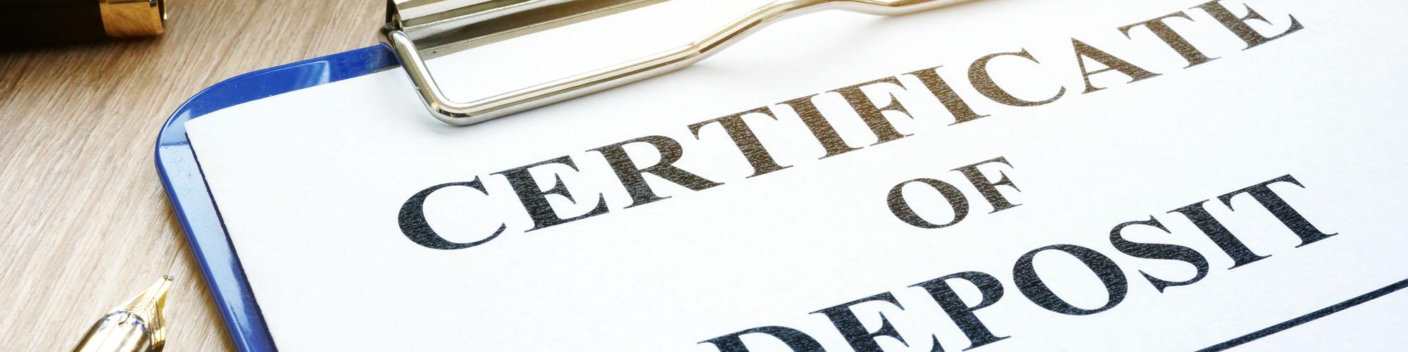 Certificates Of Deposit Losb